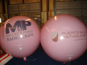 Reusable, advertising balloons from $189.00.