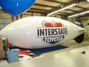 Naperville advertising blimp for sale